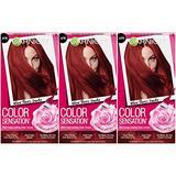 Garnier Hair Color Sensation Hair Cream, Where There's Smoke, (Pack of 3)