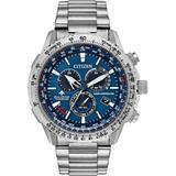 Chronograph Promaster Air Titanium Bracelet Watch 46mm, Created For Macy's - Metallic - Citizen Watches