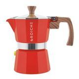 Grosche Milano Espresso Maker in Red, Size 8.2 W x 3.0 D in | Wayfair GR 390