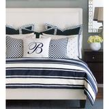 Eastern Accents Summerhouse by Barclay Butera Duvet Cover Set, Rayon in Blue/White, Size Twin | Wayfair 7BT-BB-BDT-32