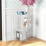 Etta Avenue™ Ciera Plastic Cube Bookcase Plastic, Size 27.8 H x 15.75 W x 11.81 D in   Wayfair 97256BD2B86849FCBBEF65D1DC4F4413