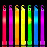 """36 Pack 6"""" Glow Sticks Emergency Light Party Supplies, 7 Color Ultra Bright Neon Sticks Glow In The Dark, Waterproof Glow Sticks Accessories for Survival,Camping, Parties,4th of July Decorations"""