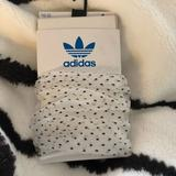 Adidas Other   Adidas Sheer Women'S Socks   Color: Black/White   Size: Os