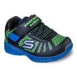 Skechers S Lights Illumi-Brights Toddler Boys' Water-Resistant Light-Up Shoes, Toddler Boy's, Size: 7 T, Green