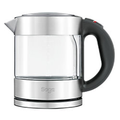 Sage Wasserkocher Silber 1 l Glas, Edelstahl 2400 W SKE395CLR