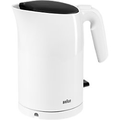 Braun Wasserkocher Weiß 1.7 l Edelstahl, Kunststoff 2200 W WK 3100 WH