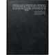 BRUNNEN Buchkalender Magnum 1 Woche auf 2 Seiten 2022 Schwarz