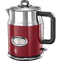 Russell Hobbs Wasserkocher Rot, Silber 1.7 l Edelstahl, Kunststoff 2400 W 21670-70