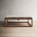Greyleigh™ Tamiko Solid Coffee Table in Brown/Gray, Size 15.0 H x 42.0 W x 42.0 D in   Wayfair TADN9424 37309689