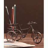Anx ORA Desk Organizers Bronzed - Bronze Bicycle Iron Penholder