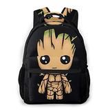 Funny Backpack QUNUNE-106 Daypack Student Bag School Bag Shoulder Bookbag for Boys Girls