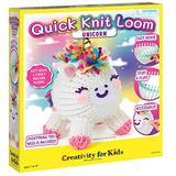 Creativity for Kids Quick Knit Loom Unicorn Plushie – Knitting Craft Kit for Kids – Create a DIY Unicorn Plush Toy