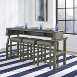 Liberty Furniture Industries Hayden Way 4 Piece Set, Gray Wash