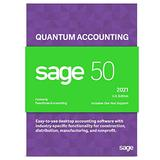 Sage Software Sage 50 Quantum Accounting 2021 U.S. 2-User Accounting Software (2-Users)