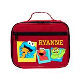TV's Toy Box Lunch Bags and Lunch Boxes Red - Red Elmo & Friends Red Personalized Lunch Bag