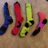Nike Underwear & Socks   4 Pack Of Nike Socks   Color: Blue/Green/Orange/Red   Size: L