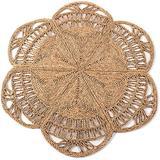 Handmade Rattan Rug   Natural Round 4 ft Indoor   Area Rug 4', Natural Fiber Rugs, Round Jute Rug, Straw Rug, Round Boho Rug, Woven Rug, Round Rugs   Including Circular and Rectangular Shape