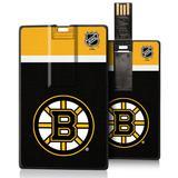 Boston Bruins Stripe Credit Card USB Drive