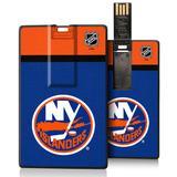 New York Islanders Stripe Credit Card USB Drive