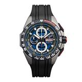 G5 Delta - Black Automatic Titanium Swiss Sport Chrono Watch (Black)