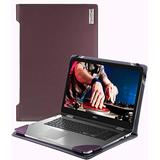 """Broonel - Profile Series - Purple Leather Laptop Case - Compatible with The Dell Latitude 13.3 3301 13.3"""" Business Laptop"""