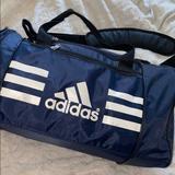Adidas Bags | Adidas Overnight Gym Bag | Color: Blue | Size: Os