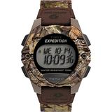 Timex x Mossy Oak Men's Expedition Digital CAT 40mm Watch – Break-Up Country Camo Fabric Strap