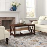 Andover Mills™ Soule 2 Piece Coffee Table Set Wood in Brown, Size 20.0 H x 44.0 W in   Wayfair A5BD55FC18A64CDFB7293B41ADC3B2A3