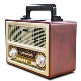 Supersonic Multi-Function Decorative Radio in Brown, Size 6.3 H x 11.69 W x 8.78 D in | Wayfair SSCSC1198BT