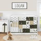 Sweet Jojo Designs Woodland Camo 5 Piece Crib Bedding Set Polyester/Cotton in Black/Brown/Green | Wayfair WoodlandCamo-Crib-5