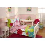 Harriet Bee 4 Piece Toddler Bedding Set Polyester in Blue/Green/Pink   Wayfair BE37577B93CB44D1ADD14ECD5E3D29C0