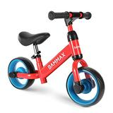 Bammax Baby Balance Bike, Kids Training Bike Toddler Riding Scooter Bicycle Riding Toys No-Pedal Baby Walker First Bike Inflation-Free Lightweight Sport Balance Bike for 3 to 6 Year Infant & Children