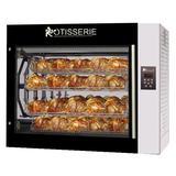 Rotisol USA SC8.720 Electric 8 Basket Rotisserie Oven w/ 40 Bird Capacity, 208-240v/3ph