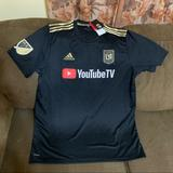 Adidas Shirts | Adidas Los Angeles Fc Soccer Jersey, L & Xl (New) | Color: Black/Gold | Size: Various