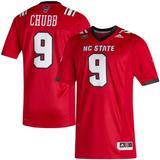 Men's adidas Bradley Chubb Red NC State Wolfpack Alumni Football Jersey