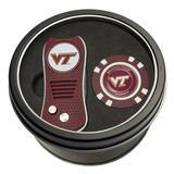 """""""Virginia Tech Hokies Switch Chip Golf Tin Set"""""""
