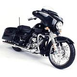 Maisto 2015 Harley Davidson Street Glide Motorcycle 1/12 Scale Pre-Built Model Black