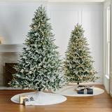 Freshly Fallen Snowcrest Full Profile Tree - 7-1/2 Ft. - Frontgate - Christmas Tree
