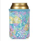 Lilly Pulitzer Kitchen   Insulated Can And Bottle Holder   Color: Blue   Size: Os