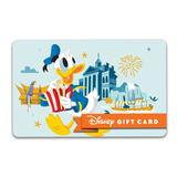 Donald Duck Disney Gift Card Disneyland