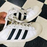 Adidas Shoes | Adidas Womens Superstar Shoe | Color: Black/White | Size: 8.5