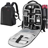 ESDDI Camera Bag Backpack Professional for DSLR/SLR Mirrorless Camera Waterproof, Camera Case Compatible for Sony Canon Nikon Camera and Lens Tripod Accessories
