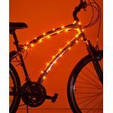 Brightz Bike Accessories Orange - Orange microLED Bicycle Frame Accessory Light