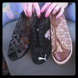 Michael Kors Shoes | 3 Pair Of Shoes | Color: Black/Brown | Size: 7.5