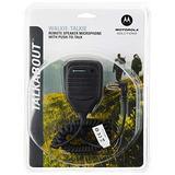 Motorola 53724 Remote Speaker Microphone (Black)