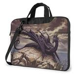 Cool Fierce Evil Dragon King Laptop Bag 15.6 Inch Laptop Sleeve Case with Shoulder Straps & Handle/Notebook Computer Case Briefcase Compatible with MacBook/Acer/Asus/Hp