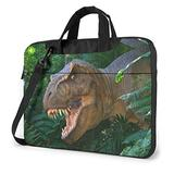 Dinosaur Laptop Bag 15.6 Inch Laptop Sleeve Case with Shoulder Straps & Handle/Notebook Computer Case Briefcase Compatible with MacBook/Acer/Asus/Hp