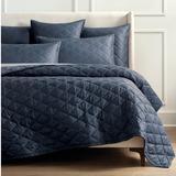Resort Ava Cotton Silk Bedding - Steel Blue, King Steel Blue Quilt, Steel Blue Quilt - Frontgate