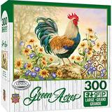 """MasterPieces Green Acres 300 Puzzles Collection - Morning Glory 300 Piece Jigsaw Puzzle ,18"""" x 24"""""""