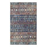 nuLOOM Carter Gothic Striped Area Rug, Blue, 5X8 Ft